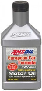 AMSOIL AFL 5w40 Synthetic Motor Oil