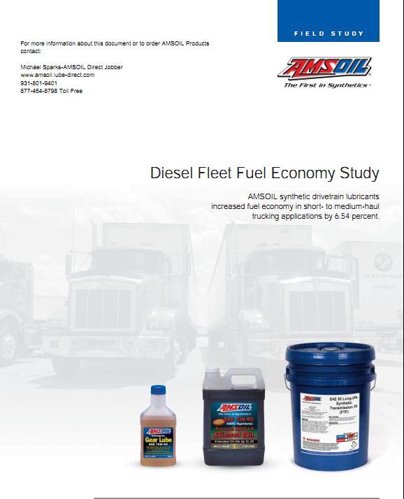 AMSOIL Fuel Economy Study